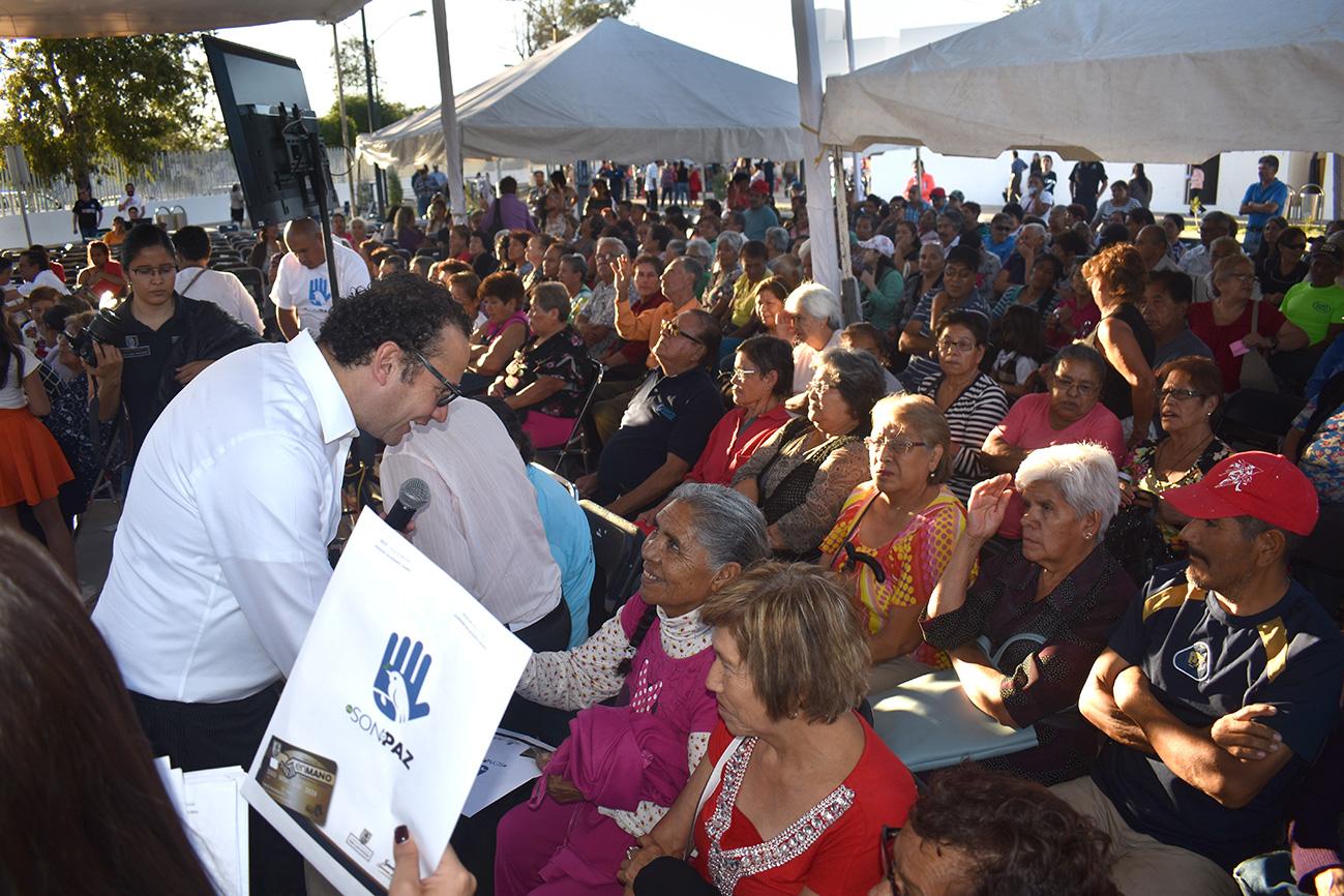 """Suma valle dorado más de 760 beneficiarios a """"en son de paz"""""""