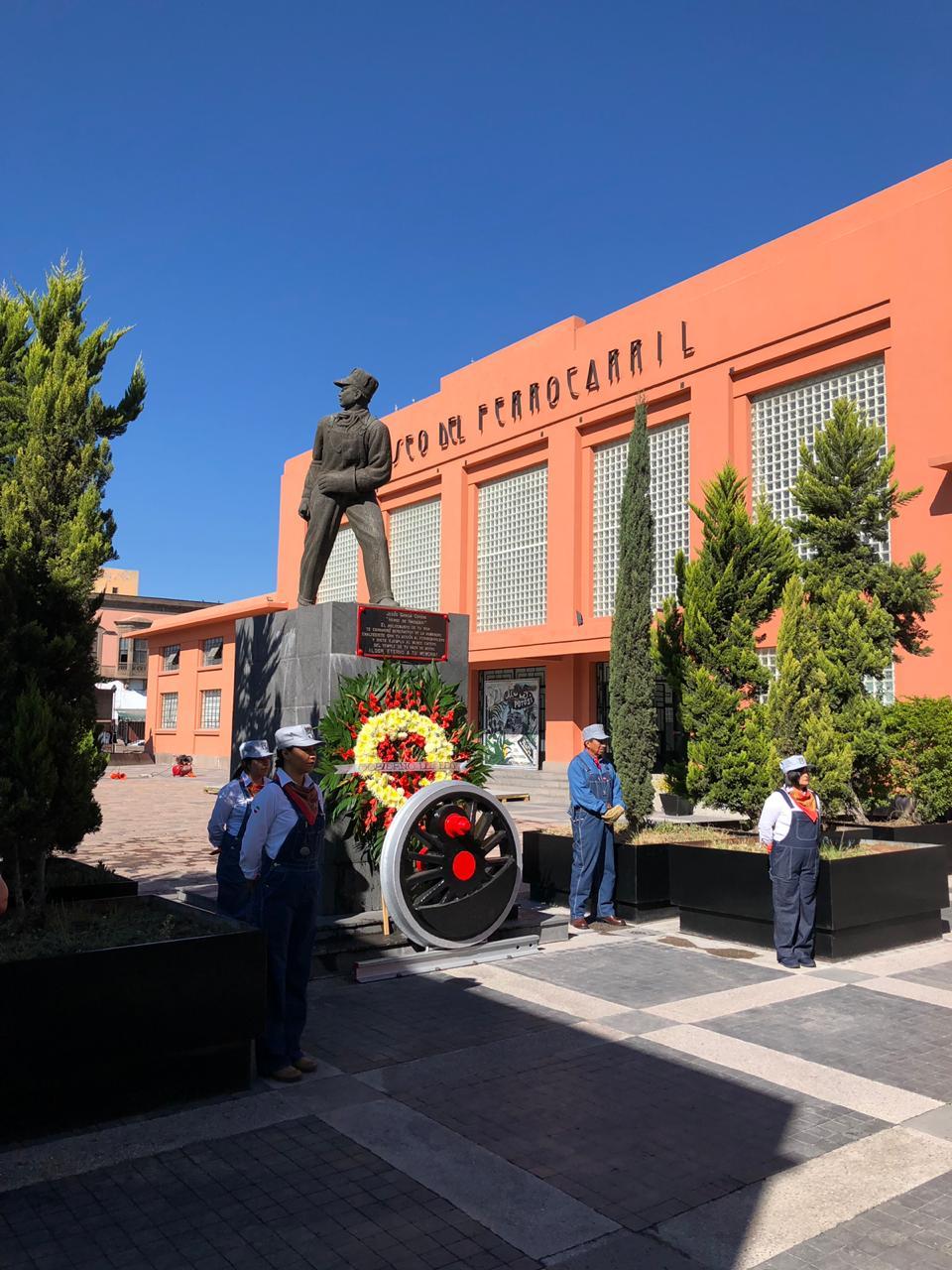 Concurso de Comparsas y de Altar de muertos en el Museo del Ferrocarril