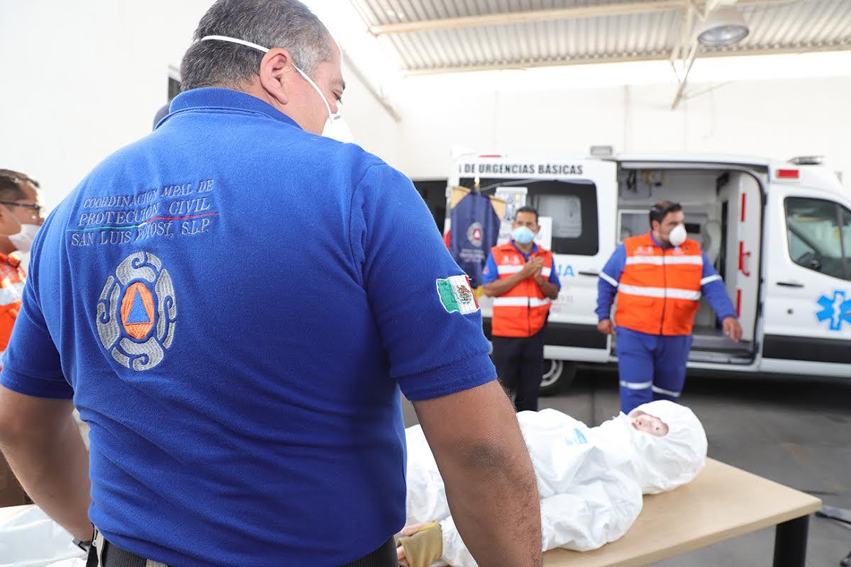 Modernizan equipo en protección civil para beneficio de SLP